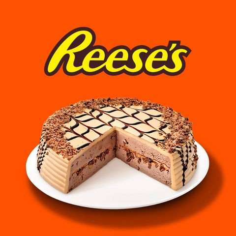 Swell This Giant Reeses Cake Is At Walmart Now Funny Birthday Cards Online Elaedamsfinfo
