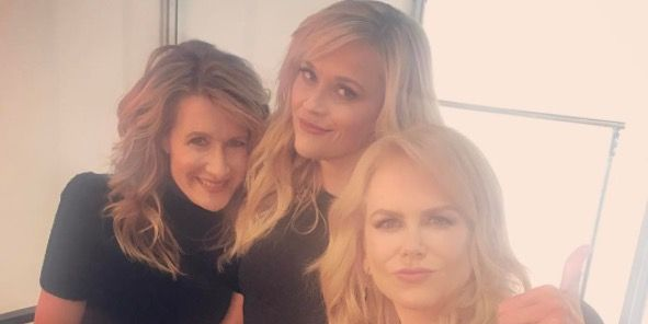 Laura Dern, Reese Witherspoon, Nicole Kidman, Big Little Lies