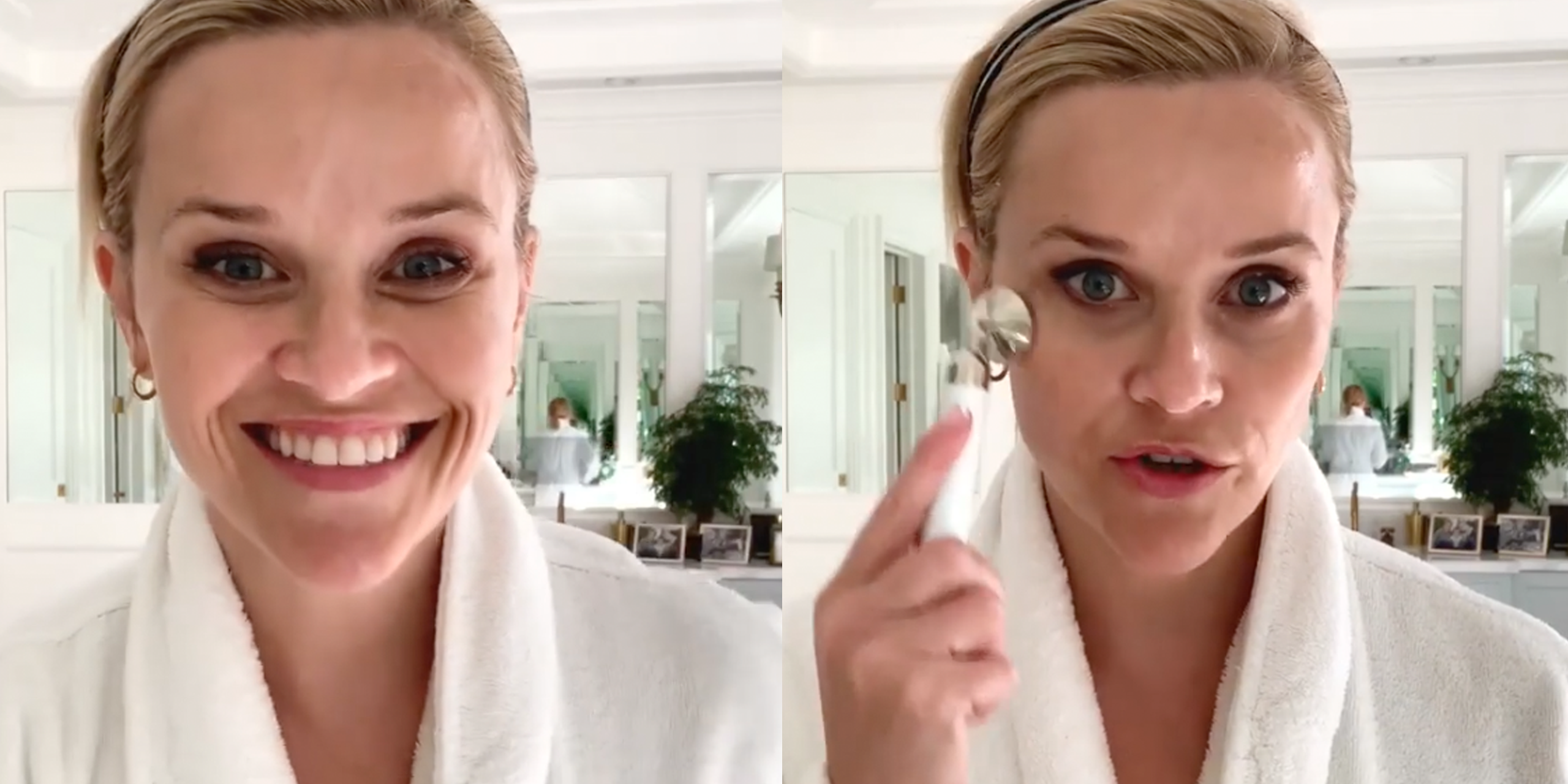 Reese Witherspoon, 43, Just Shared Her Age-Defying, 3-Step Skincare Routine