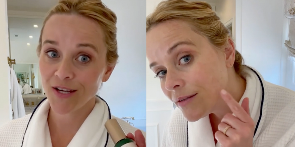 Reese Witherspoon Swears by This Vitamin C Serum to Fade Stubborn Dark Spots at 45