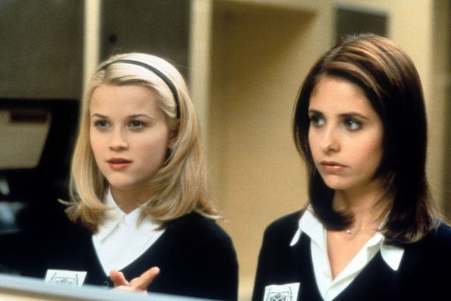 reese witherspoon and sarah michelle gellar in 'cruel intentions'