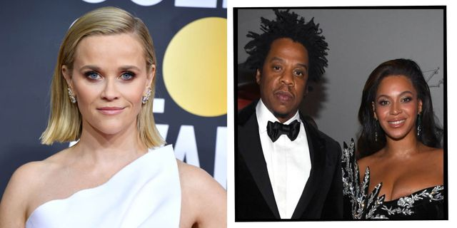 Reese Witherspoon Asked Beyoncé For A Glass Of Her Champagne At The Golden Globes