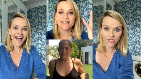 Reese Witherspoon entrevista en instagram a jennifer lopez