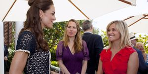 Reese Witherspoon meets the Duchess of CambridgeKate Middleton