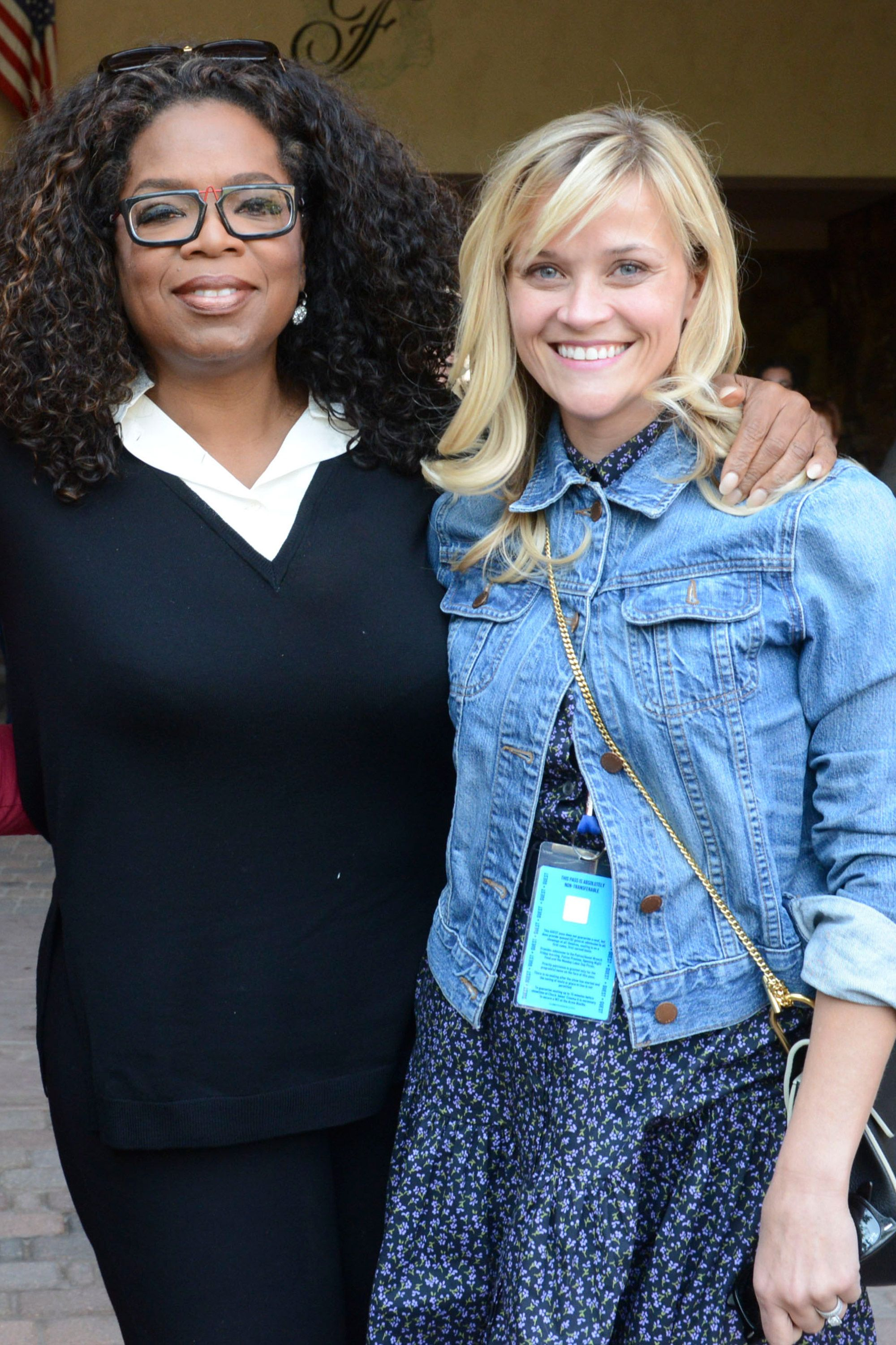 Reese Witherspoon and Oprah Winfrey laugh off Photoshop fail