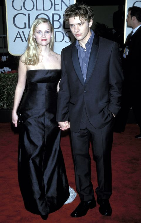 Reese Witherspoon, Ryan Phillippe, Golden Globes, 2000