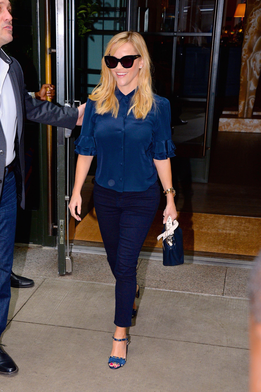 Celebrity Sightings in New York City - September 17, 2018