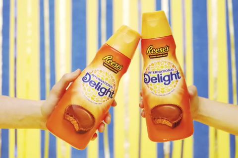 Um, Did You Know You Can Put Reese's-Flavored Creamer In Your Coffee?
