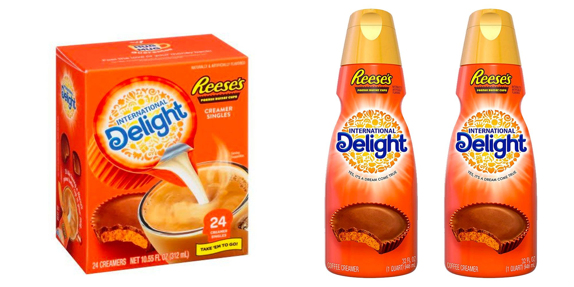 International Delight Made A Reese's-Flavored Coffee Creamer