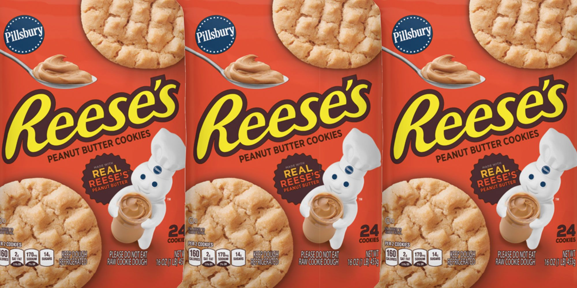 Pillsbury Makes Reese's Peanut Butter Cookies, And They're Perfect For The People Who LOVE Peanut Butter