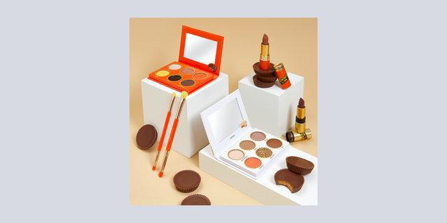hipdot reese's peanut butter chocolate makeup collection