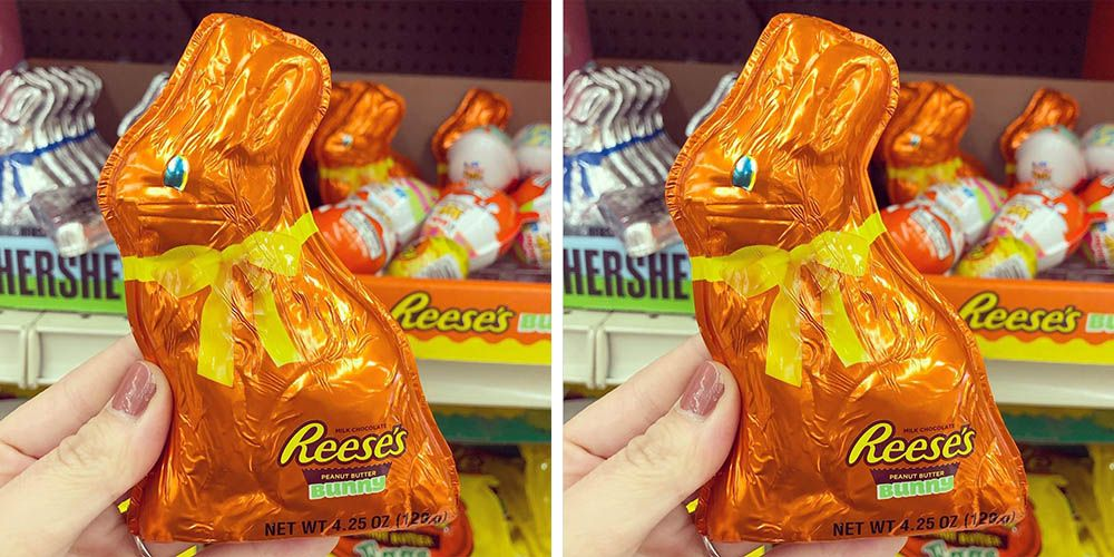 This New Reese's Bunny Is Stuffed With Peanut Butter, So It's a Happy Easter Indeed