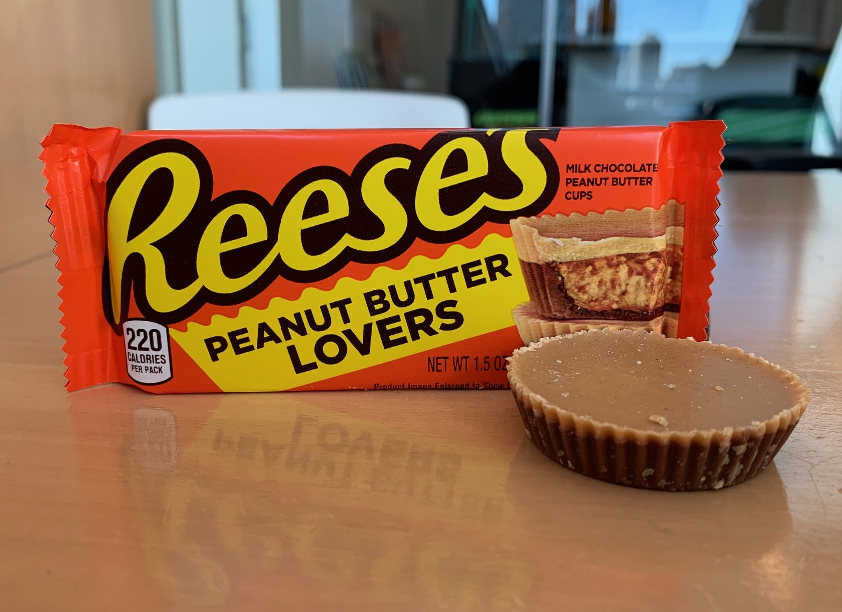 We Tried the New Reese's Cup Made Strictly For Peanut Butter Lovers