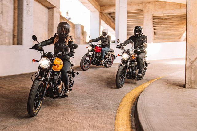 royal enfield motorcycle riders