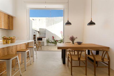 Casa de estilo andaluz reformada