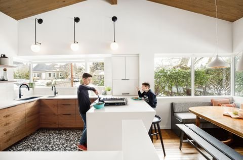 Proyecto de reforma de una cocina familiar