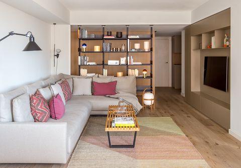 Reforma integral de un piso familiar en Coderch