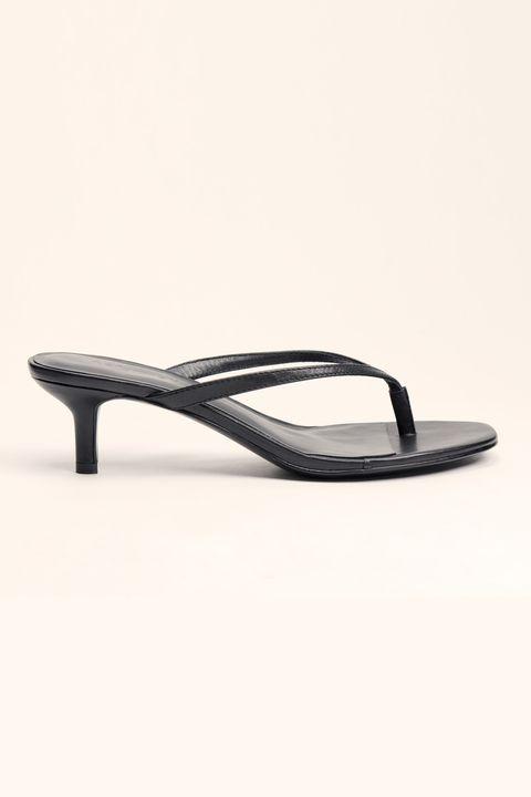 Reformation heeled flip flop