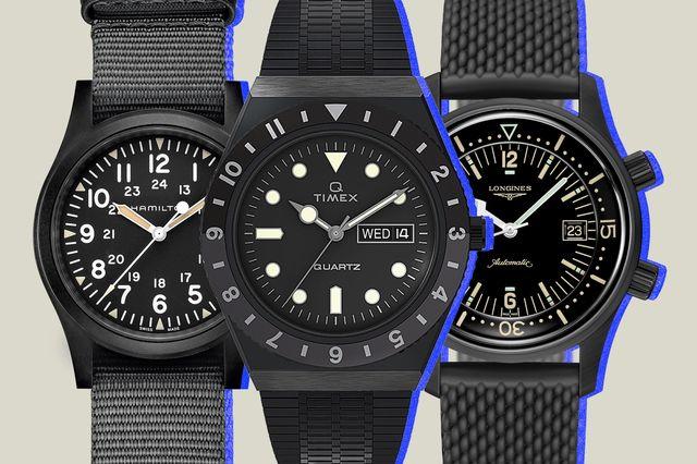 best black watches