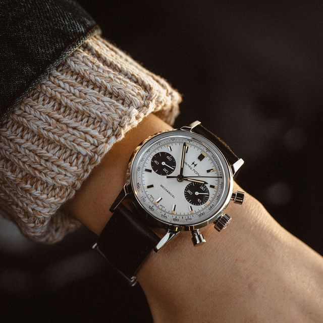 american classic intra matic chronograph h watch