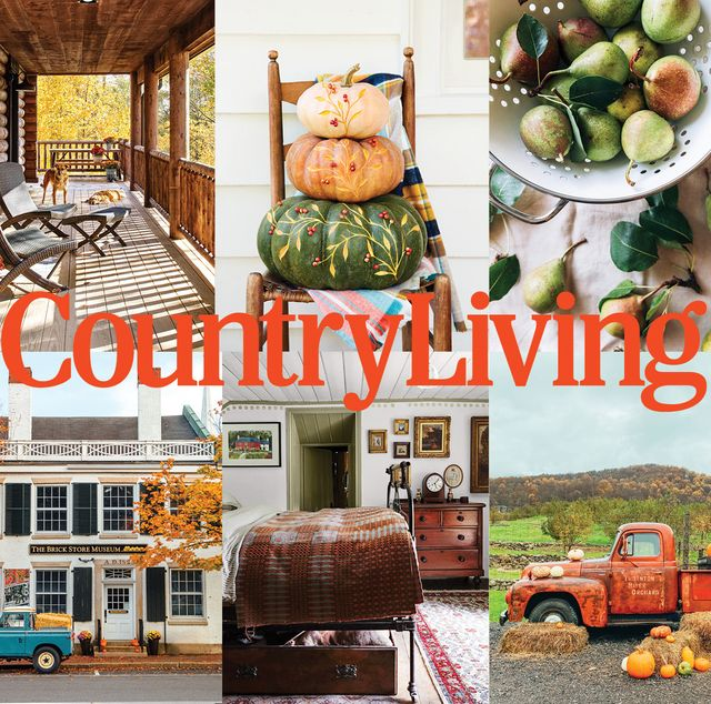 country living october issue preview
