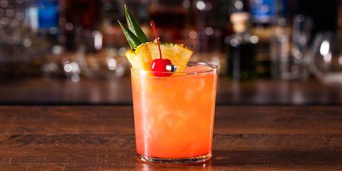 Refreshing Rum Mai Tai Cocktail