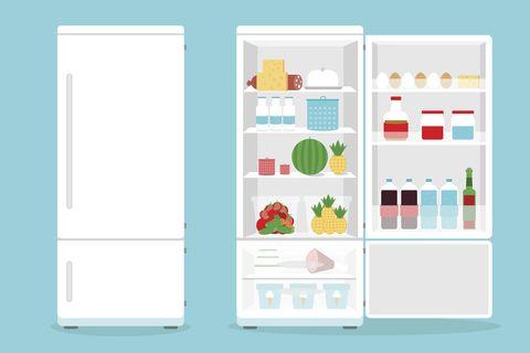 fridge freezer storage advice