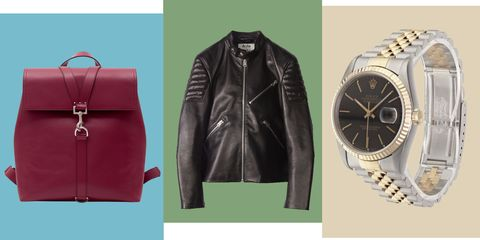 Clothing, Leather, Jacket, Leather jacket, Outerwear, Fashion, Textile, Material property, Brand, Fashion accessory,