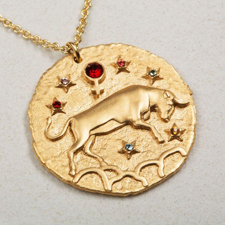 Medalla con el signo del zodiaco, Maje
