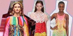 Regenboog jurk trend