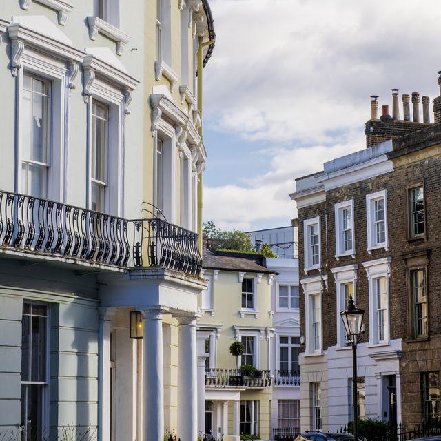regency era houses in primrose hill, london