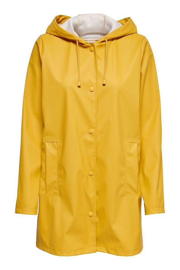 Regenjas, geel