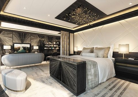 Room, Interior design, Lighting, Floor, Bed, Property, Wall, Textile, Architecture, Ceiling,