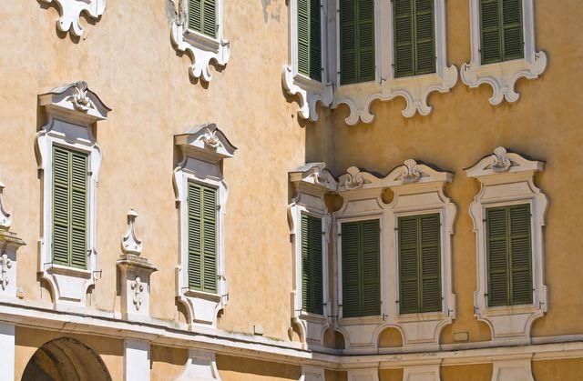 reggia of colorno emilia romagna italy