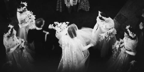 Photograph, Black, Black-and-white, Monochrome photography, Monochrome, Snapshot, Dress, Photography, Wedding, Darkness,