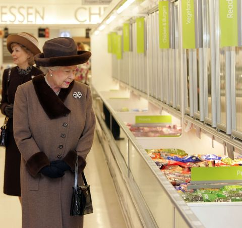 The Queen Opens Shopping Centre in Windsor
