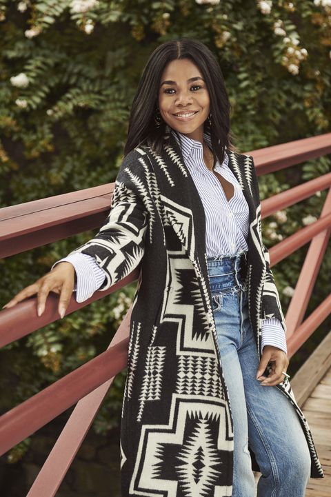 50593bc4066 Regina Hall Shows Off Her Fall Fashion Favorites In Easy and Chic Looks