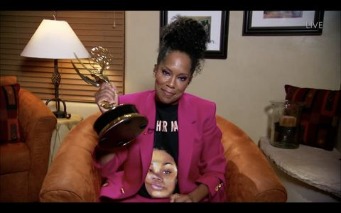 the 72nd emmy® awards   hosted by jimmy kimmel, the 72nd emmy® awards will broadcast sunday, sept 20 800 pm edt600 pm mdt500 pm pdt, on abc abc via getty images regina king