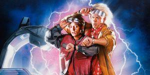 regreso al futuro poster