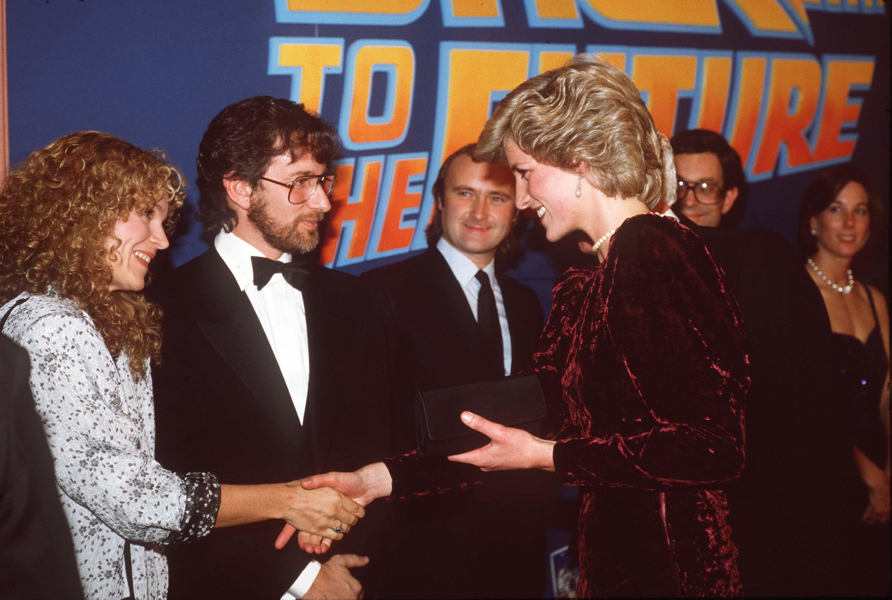 Fotos de la premiere de 'Regreso al futuro' en 1985