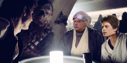 star wars regreso al futuro