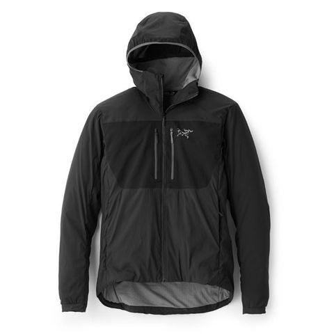 Jacket, Hood, Outerwear, Clothing, Black, Hoodie, Sleeve, Windbreaker, Jersey, Polar fleece,