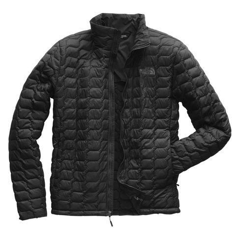 Clothing, Jacket, Outerwear, Black, Sleeve, Puffer, Hood, Top, Jersey, Collar,