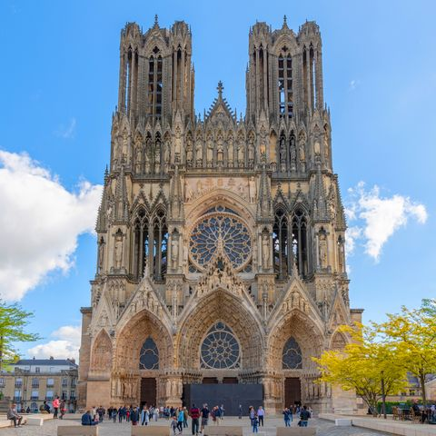 Unusual city breaks - Reims Cathedral, France