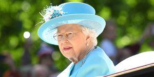 La reina Isabel II aparecía en las fotos del bautizo de Luis de Cambridge