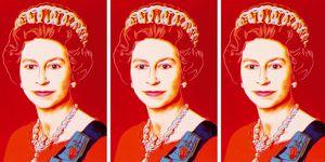 La reina Isabel II por Andy Warhol