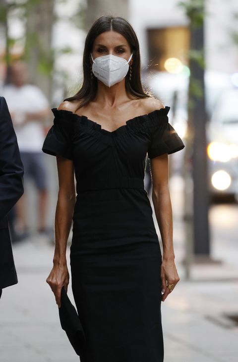 el look más sexy de la reina letizia