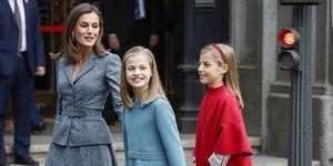 Reina Letizia y sus hijas,Reina Letizia y sus hijas de compras Madrid, Letizia hijas, Leonor y Sofía