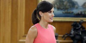 La reina Letizia recupera su vestido de la polémica con Melania Trump
