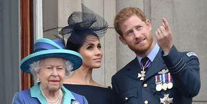 La reina Isabel y su comunicado sobre la situación de Harry y Meghan